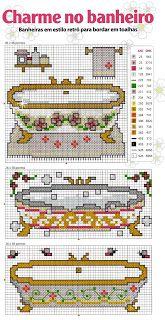 Bañeras Bathroommenucrochet Accessoriespin Cushionscross Sch Embroideryneedlepointfree Patternneedleworkvintage Crates