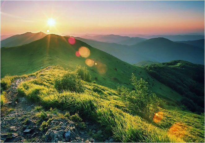 Nie ma piękniejszych widoków niż w Bieszczadach!