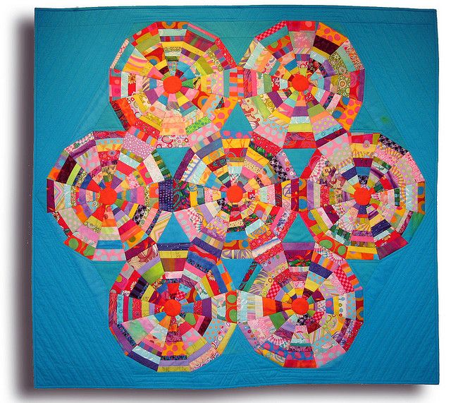 Spiderweb by Melody Johnson Quilts,