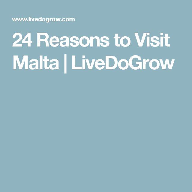 24 Reasons to Visit Malta | LiveDoGrow