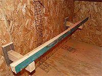 Comment construire fabriquer un perchoir pour poulailler - Guide de construction de poulailler