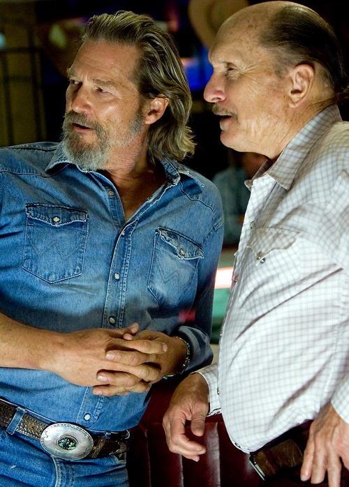 """Jeff Bridges and Robert Duvall in """"Crazy Heart""""  (2009)  Jeff Bridges - Best Actor Oscar 2009"""