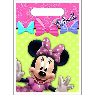 Disney's+Minnie+Mouse+Loot+Bags/Favor+Bags+8+ct+-+Party+Supplies