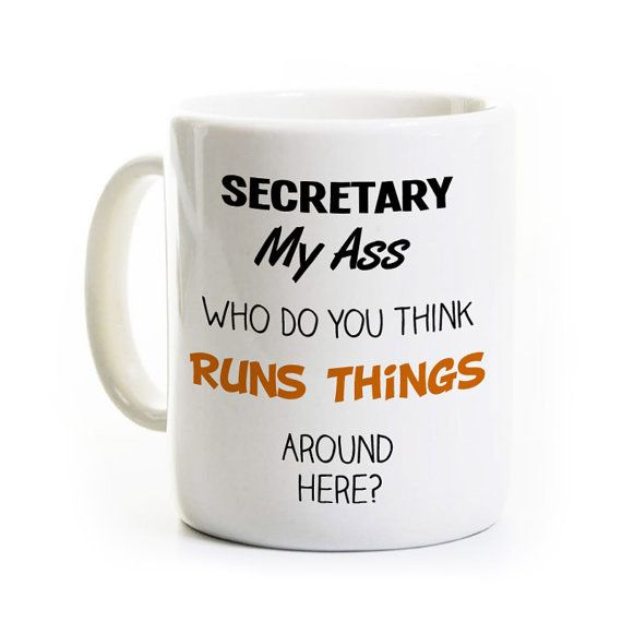 Secretary's Day Gift  Administrative by perksandrecreation on Etsy
