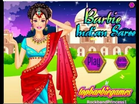 Indian style bride dress up games