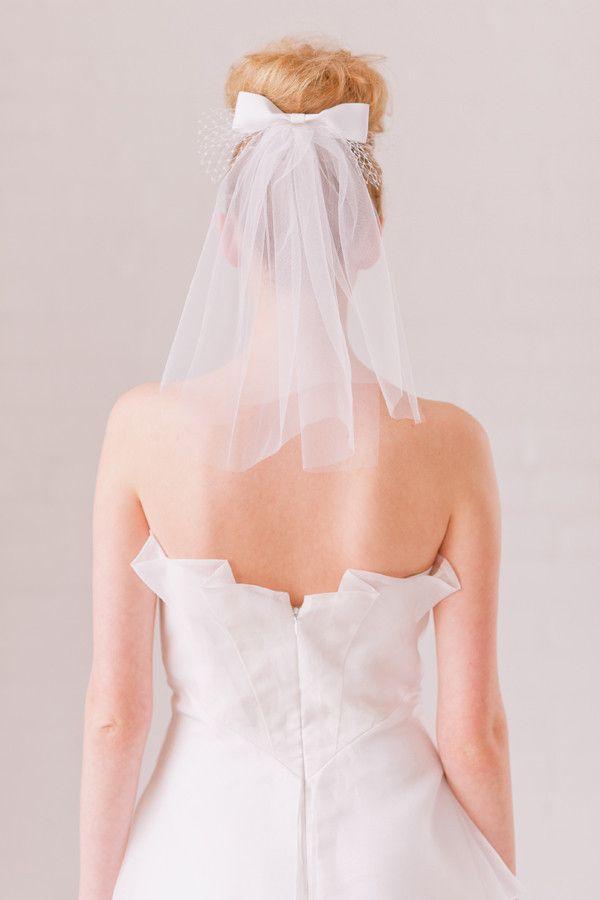 Mini Bow Veil - Style #1316