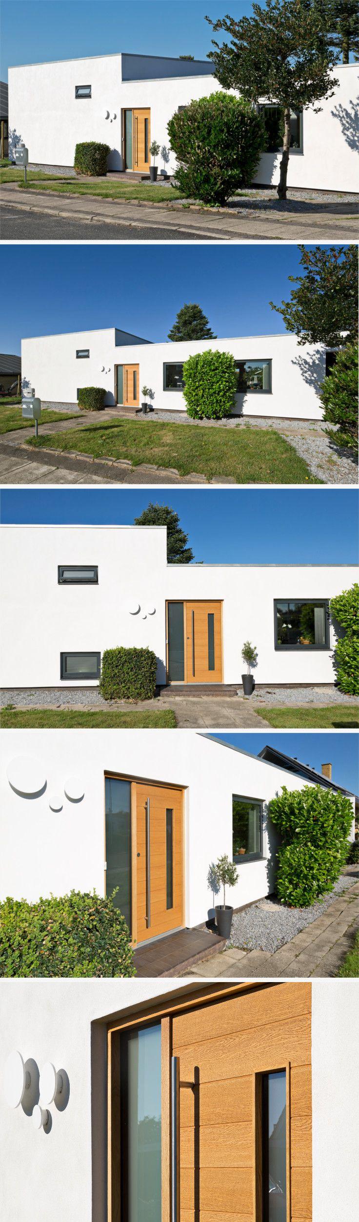 Exterior Je-Træ door model Alfa. #vahledoor #exteriordoor #je-trae #alfa #architecture #architectural #doors
