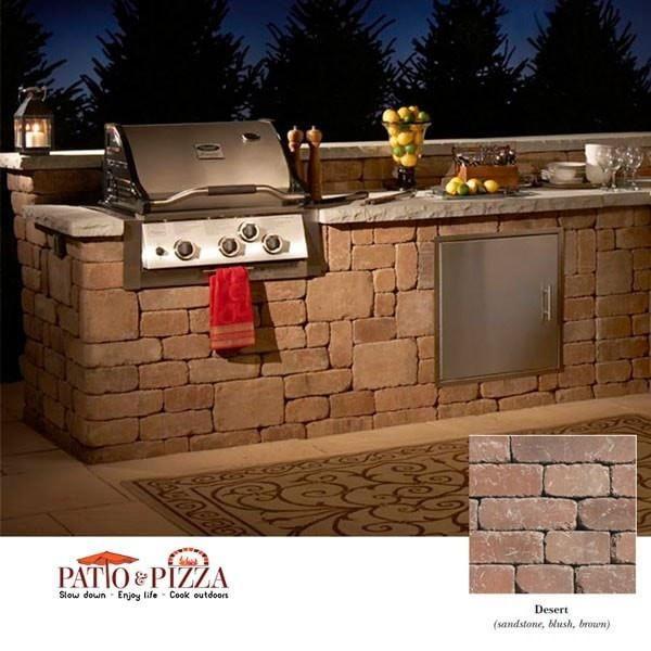 Rockwood Necessories 8 Grand Island Bar With Grill And Storage Kit Outdoor Kitchen Outdoor Kitchen Kits Outdoor Kitchen Design Layout