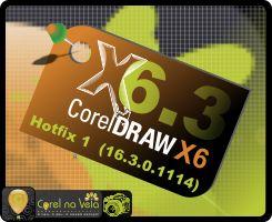 Atualizações CorelDRAW Graphics Suite X6.3 - Hotfix 1 Oficial