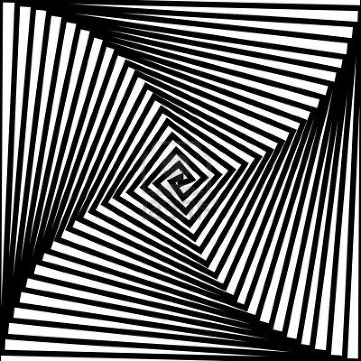 Optical weirdness tracypillarinos op pinterest for Geometric illusion art