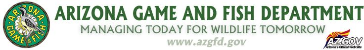 Arizona Game and FIsh Department - Managing Today for Wildlife Tomorrow: azgfd.gov field day