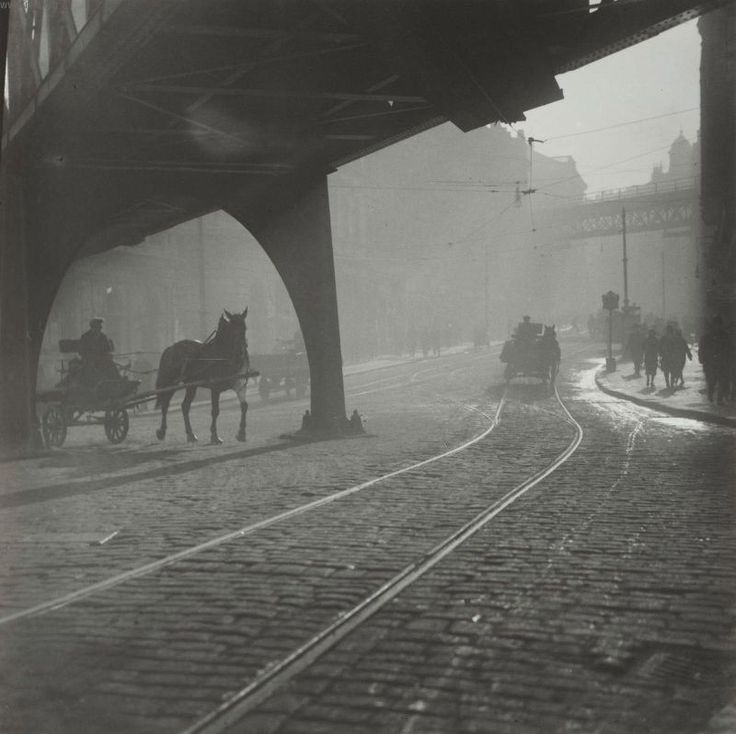 tytusjaneta:       Morning Viaducts, Prague, by Josef Sudek 1926