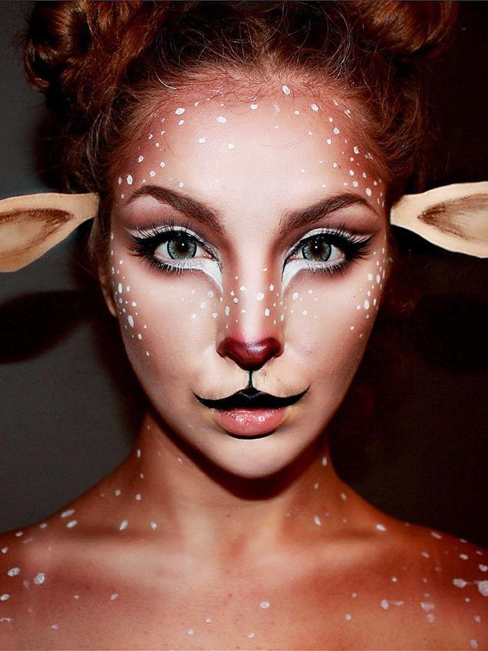 The Most Mesmerizing Halloween Makeup Ideas From Instagram via @ByrdieBeauty
