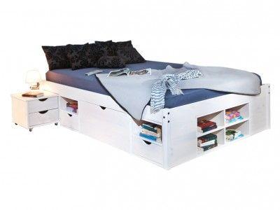 INT-Till fiókos, ifjúsági ágykeret éjjeliszekrénnyel (140x200cm)
