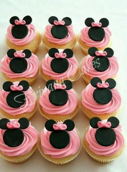 Baby shower ideas for girs food cupcake cakes minnie mouse 37 ideas