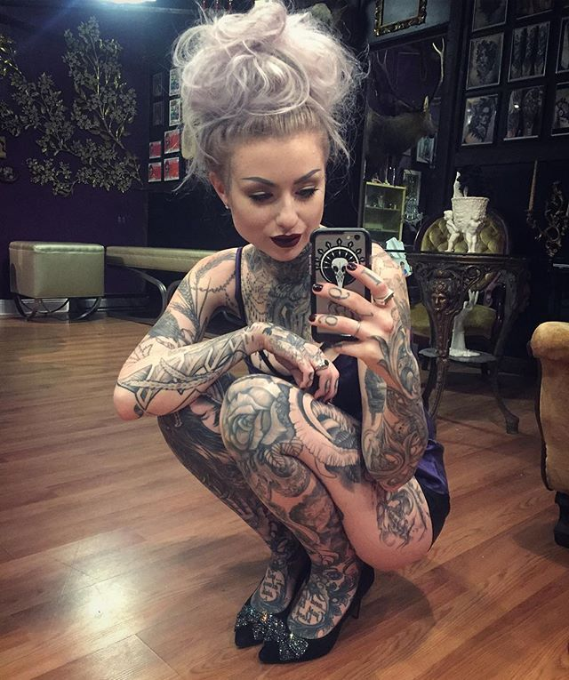 Pin for Later: 30 Badass Female Tattoo Artists to Follow on Instagram ASAP Ryan Ashley Malarkey