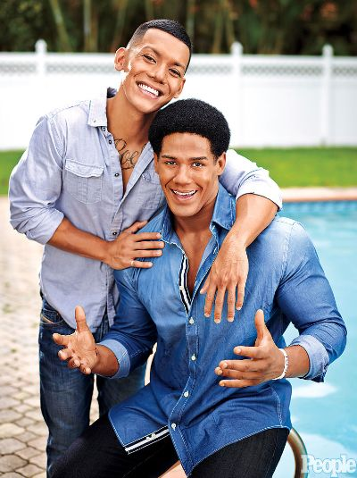 WWE Champ Darren Young and his boyfriend