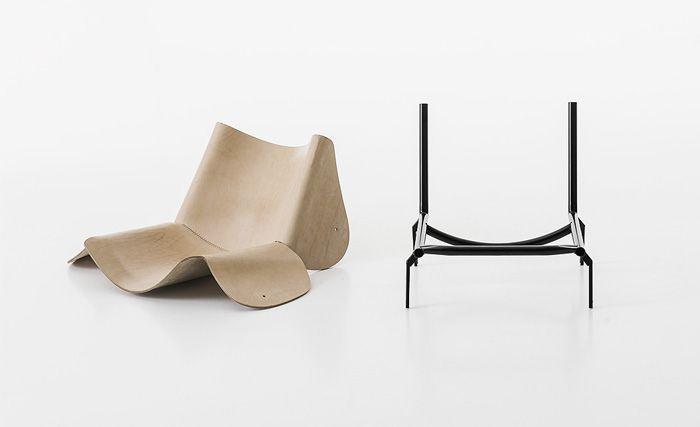 1085 Edition by Bartoli design #leatherchair #hidechair