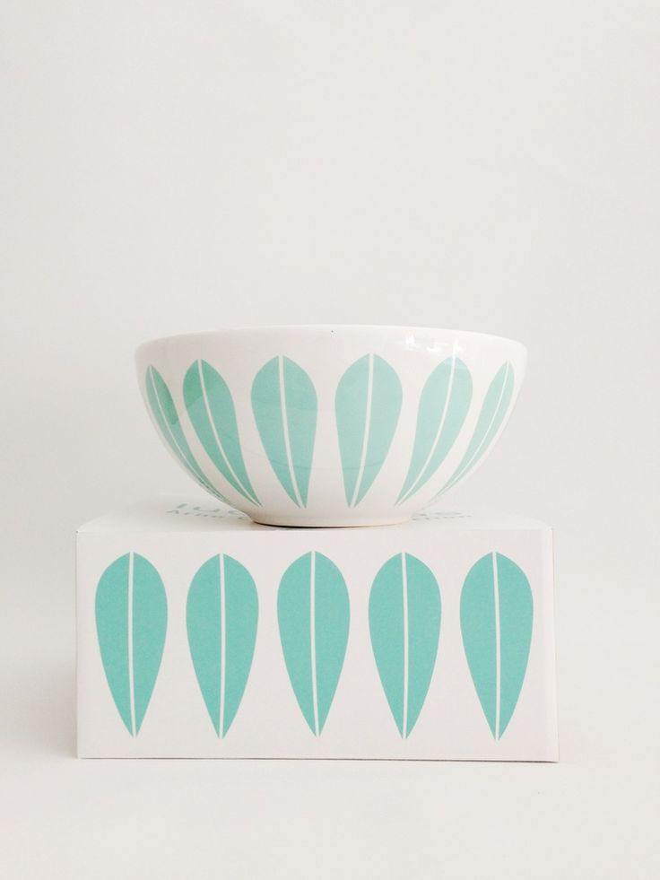 Image of Lucie Kaas designed by Arne Clausen bowls Mint Green