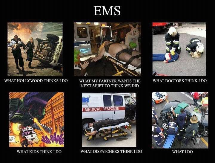 For all the paramedics and EMTs out there...Emt Firefighters, Funny, Job, Emt Paramedics, Ems Fir, Ems Stuff, Fire Ems, Ems Humor, True Stories