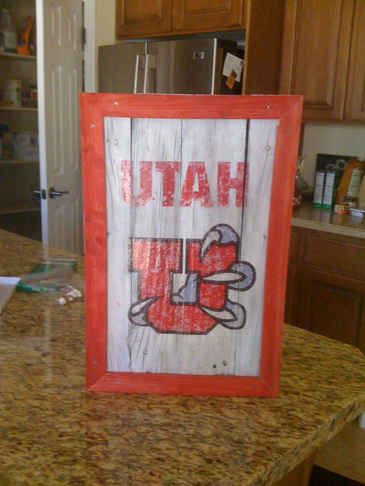 University of Utah hand painted sign - 128 Best Signs Images On Pinterest