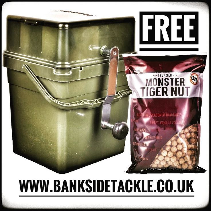 Buy a Ridgemonkey Boilie Crusher Kit and get a FREE 1kg bag of Dynamite Baits Monster Tiger Nut Boilies worth 9.99. Last dispatch date for guaranteed Christmas delivery is this Thursday. Happy shopping. #banksidetackle #ridgemonkey #christmasgift #freeboilies #poweredbyfishing