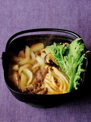 【ELLE a table】すき焼きうどん、関西風レシピ エル・オンライン