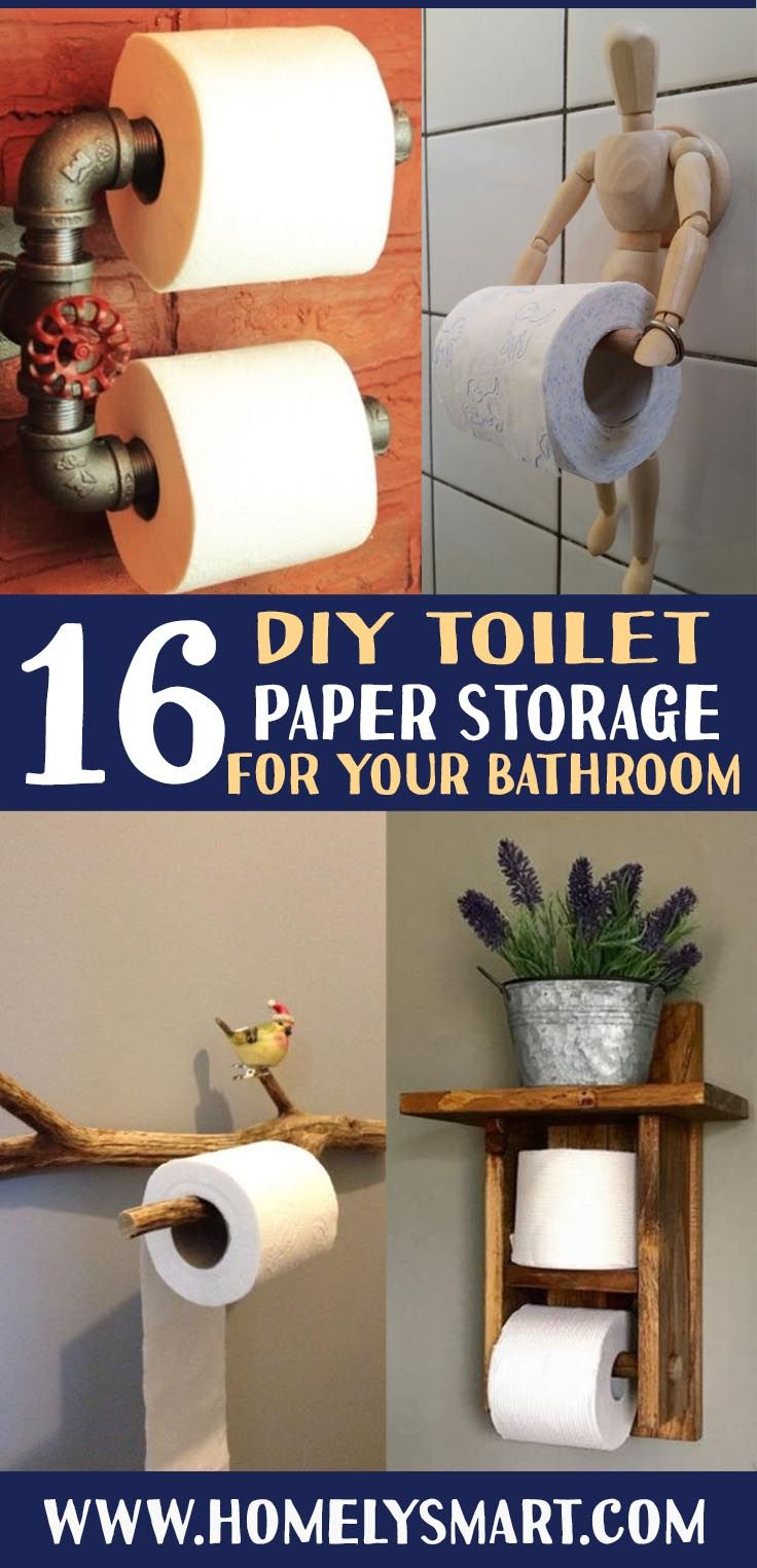 16 Diy Toilet Paper Storage Ideas For Your Lovely Bathroom Homelysmart Diy Toilet Paper Storage Inside Diy