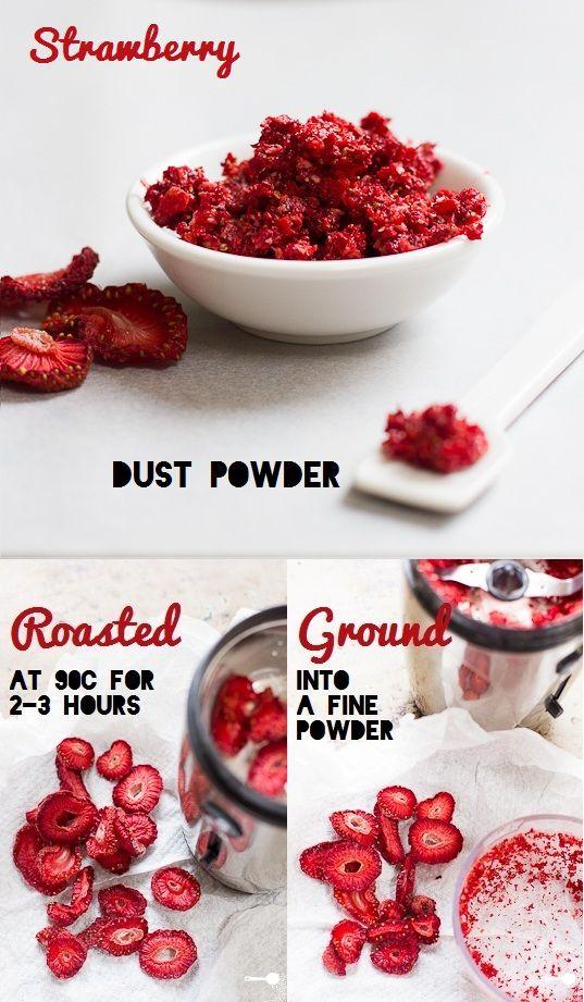 How to make Strawberry Powder