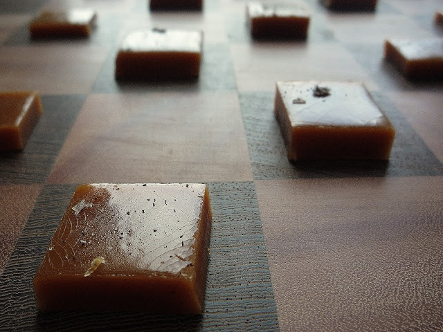 Sourwood Honey Salted Caramels 1 - beingabear.com