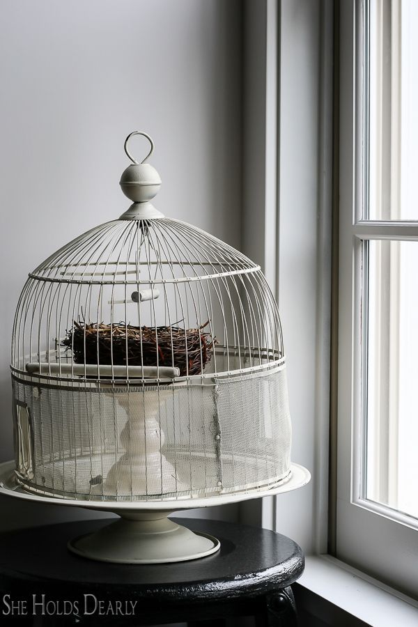 farmhouse home tour birdcage by sheholdsdearly com shabby chic rh pinterest com
