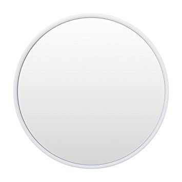 Cheftick 3X Round Small Clear Mirror Suction Cup Shower Mirror Magnifying Mirror for Shaving Wall Mounted… Review