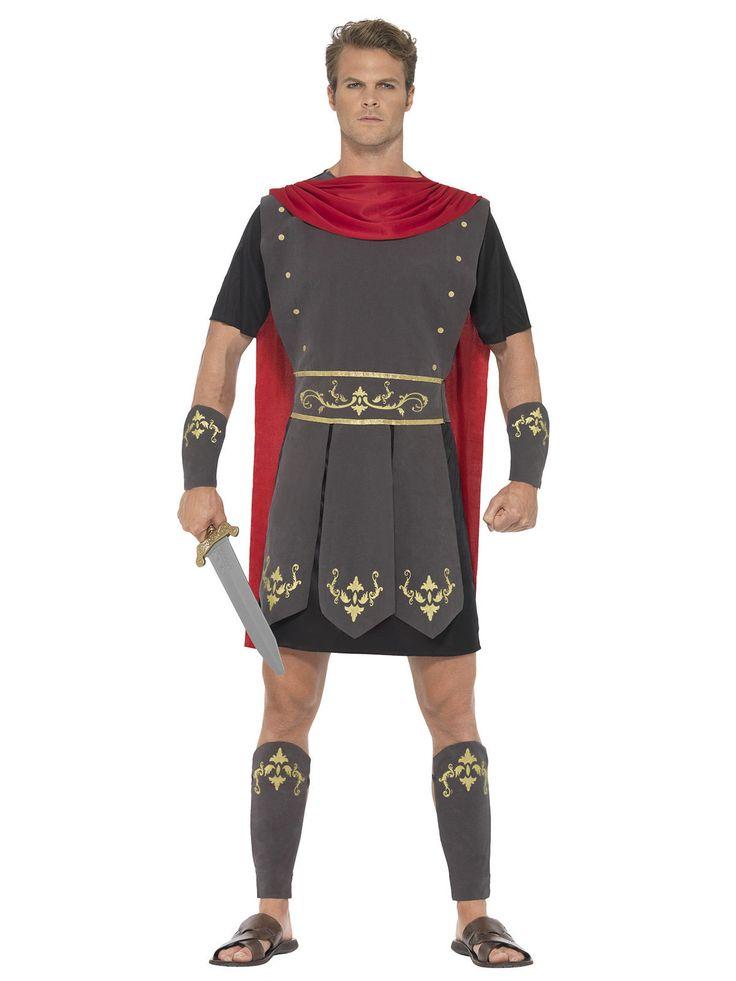 Gladiator Kostüm Antike Krieger schwarz-rot , günstige Faschings  Kostüme bei Karneval Megastore, der größte Karneval und Faschings Kostüm- und Partyartikel Online Shop Europas!