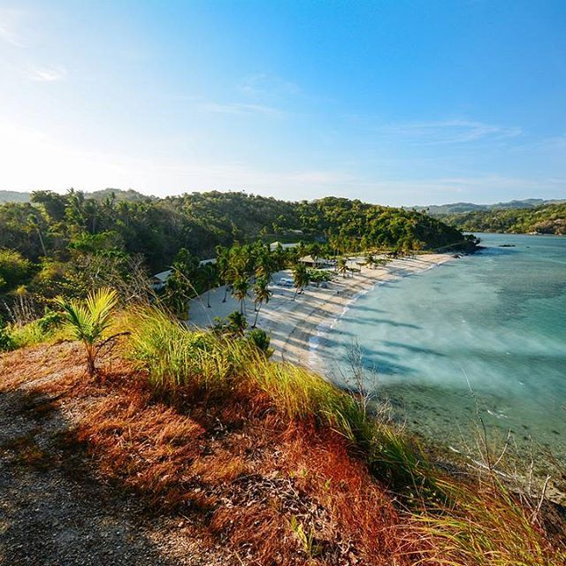 Keep Romblon on! The hill trail in Tablas Island gives you top views of the cove below! Take a hike on the hillside then dive into the clear blue waters of this awesome beach destination.