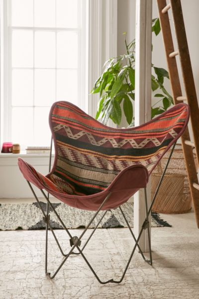 Bobo Kilim Butterfly Chair Cover - Urban Outfitters