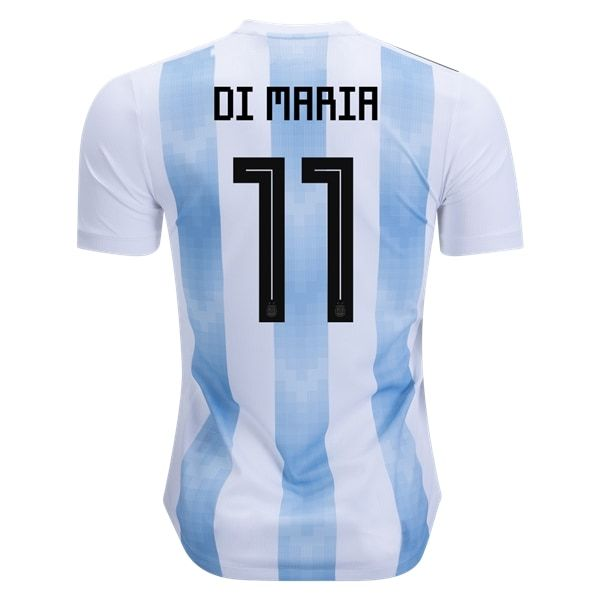 adidas Angel Di Maria Argentina Authentic Home Jersey 2018