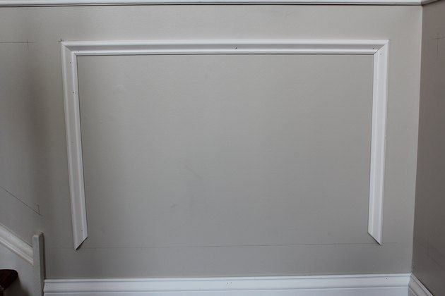 How To Add Molding Squares To A Wall Ehow Moldings And Trim Wall Trim Wainscoting Panels