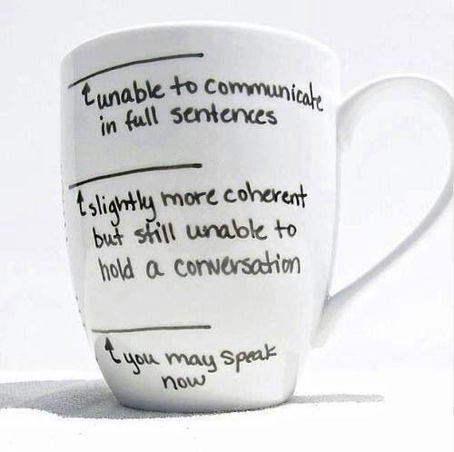 I want this mug. Badly. (DIY idea: Porcelain pen on plain white mug?)