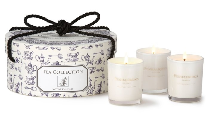 Penhaligon's tea candle packagingGift Ideas, Candles Collection, Penhaligons Penhaligons, Penhaligons Teas, Candles Sets, Teas Candles, Boxes Collection, Candles Boxes, Collection 75