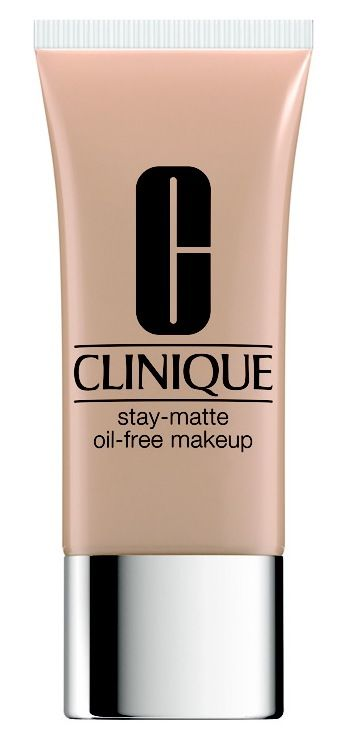 Clinique Stay Matte Foundation . *Learn about non comedogenic moisturizers and see my top picks at http://bestmoisturizerguide.com/non-comedogenic-moisturizer.