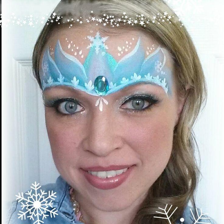 Frozen Face Paint Princess Painting Tutorials