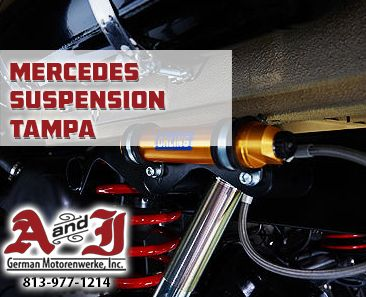 813-977-1214 Tampa Mercedes Suspension Repair by A&J. Once your car starts clicking or is really bumpy, Call A&J for a suspension checkup for your Mercedes.  http://ajmotorworks.com/mercedes-suspension-repair-tampa/   #TampaMercedesSuspensionRepair #TampaMercedesSuspension #MercedesSuspensionRepairTampa #MercedesSuspensionTampa #ajmotors #ajmotorworks #ajGermanMotorenwerke #ajtampa  A&J German Motorenwerke 10824 N Nebraska Ave Tampa, FL 33612 www.AjMotorworks.com