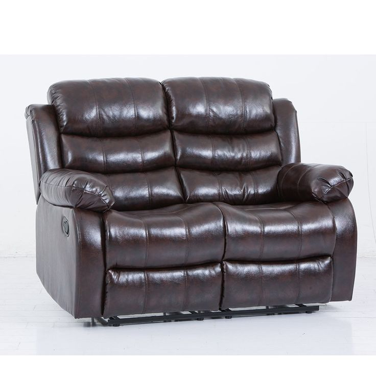 BestMassage Leather recliner chair loveseat sofa living ...