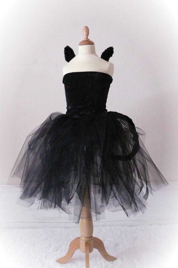robe tutu chat d guisement petit chat en tutu pour fille tutu pour fille robes tutu et petit chat. Black Bedroom Furniture Sets. Home Design Ideas