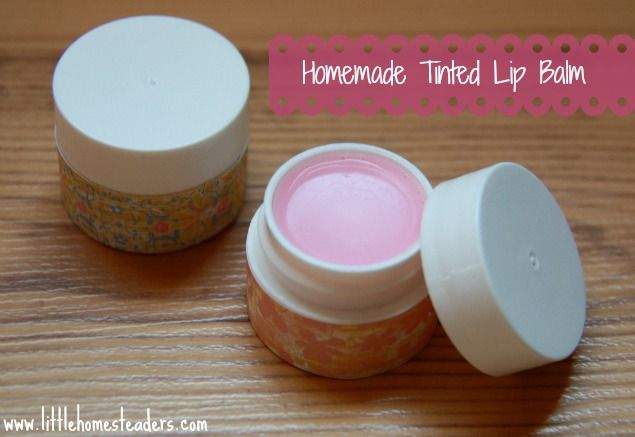 When you make it at home you can be sure it's natural. This is really important for item we put on our skin. Check out this recipe for Homemade Lip Balm.