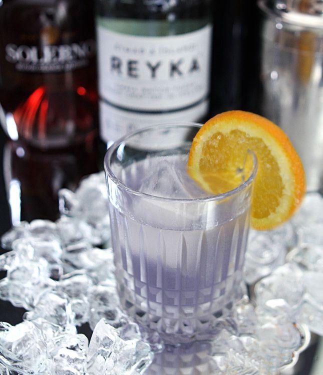 The Midnight Sun Featuring Reyka Vodka and Creme de Violette — Creative Culinary - Food & Cocktail Recipes - Denver, Colorado