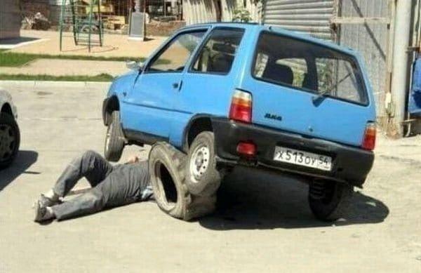 Sicurezza sul lavoro - Tra il divertente e la follia (55 Foto)   Bonkaday.com
