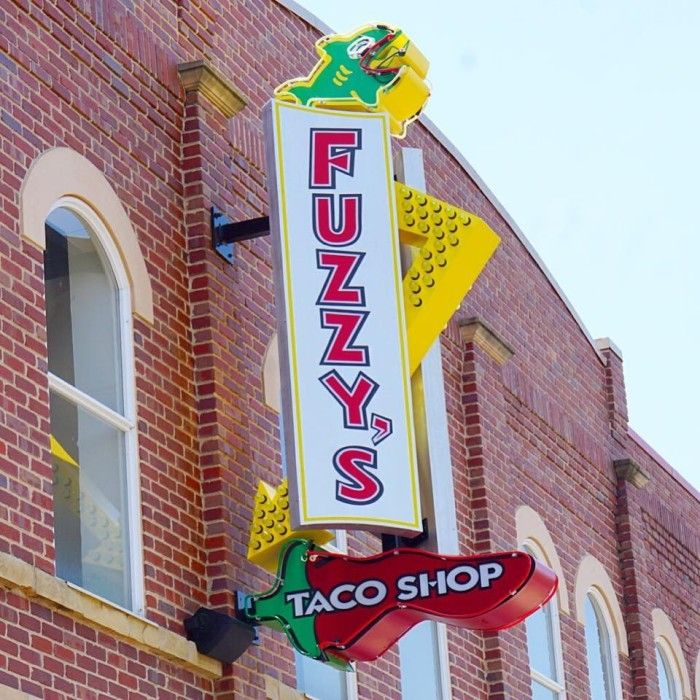 8. Fuzzy's Taco Shop, Norman, Edmond and OKC