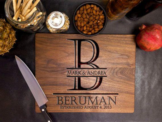 Personalized Cutting Board, Custom Cutting Board, Engraved Cutting Board, Anniversary gift, Wedding gift, Housewarming gift –21035-CUTB-002