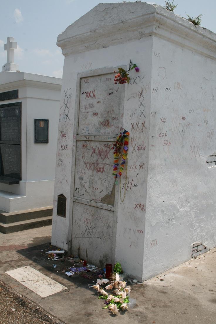 Marie Laveau's grave | The Places I Have Loved | Pinterest